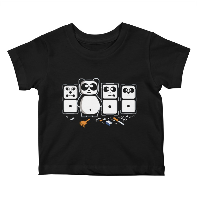 making_new_friends Kids Baby T-Shirt by graphi