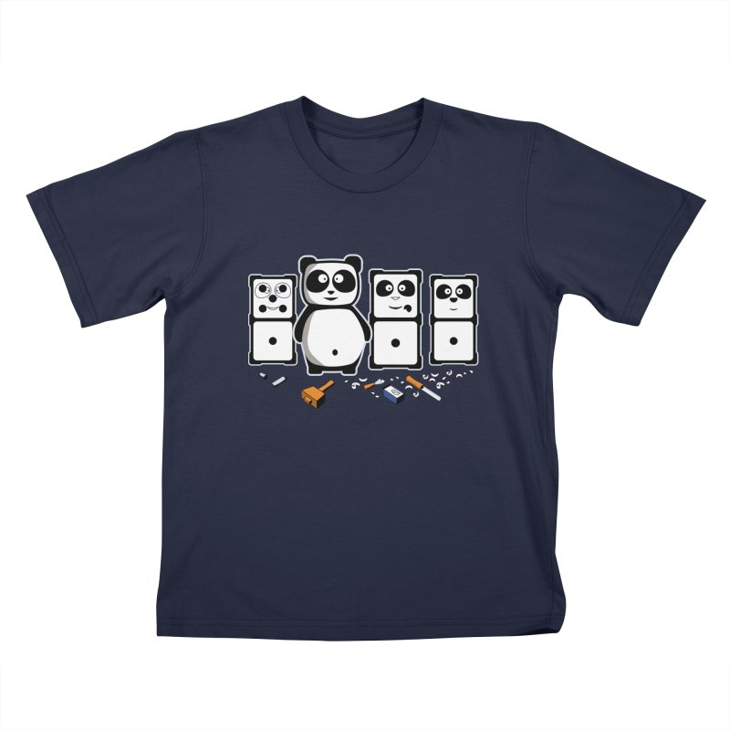 making_new_friends Kids T-Shirt by graphi