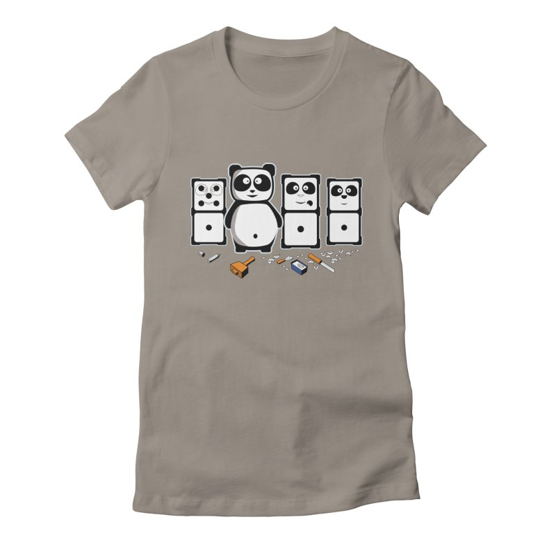 making_new_friends Women's Fitted T-Shirt by graphi