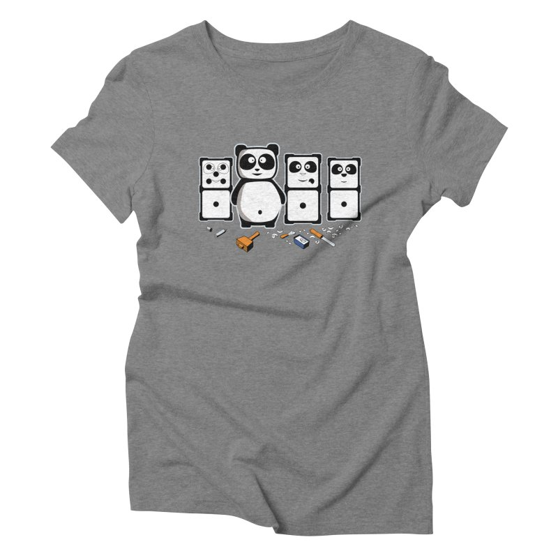 making_new_friends Women's Triblend T-Shirt by graphi