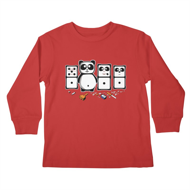 making_new_friends Kids Longsleeve T-Shirt by graphi