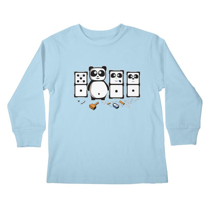 making_new_friends Kids Longsleeve T-Shirt by graphi