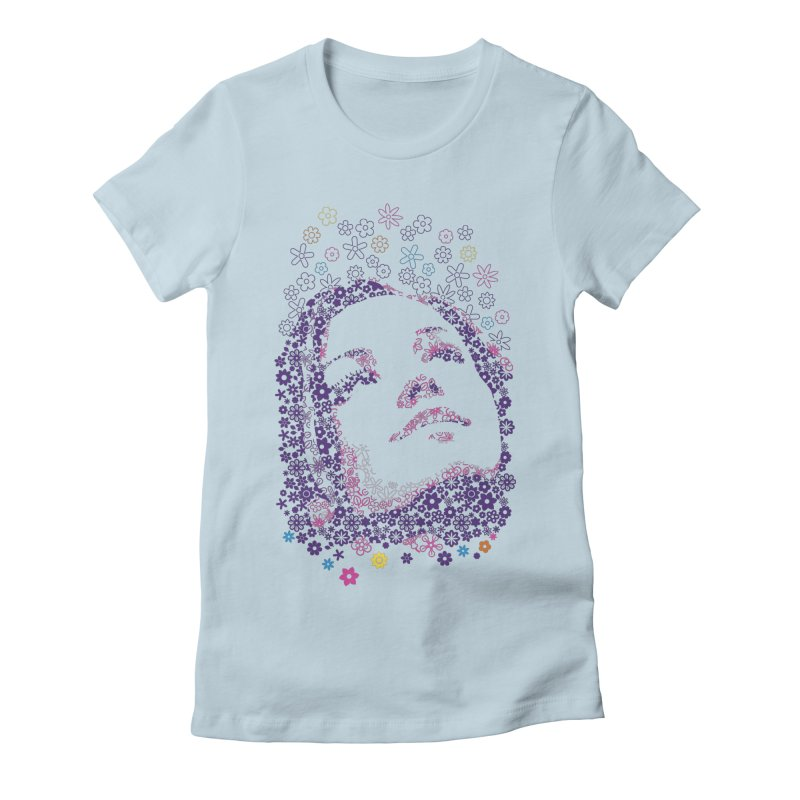 flower_girl Women's Fitted T-Shirt by graphi