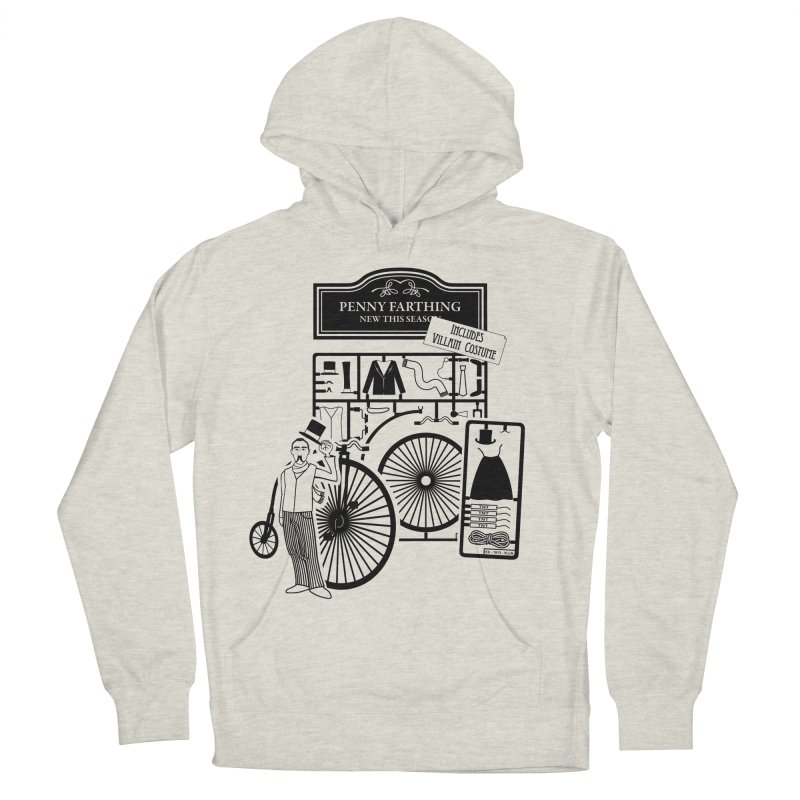 penny_farthing Women's French Terry Pullover Hoody by graphi