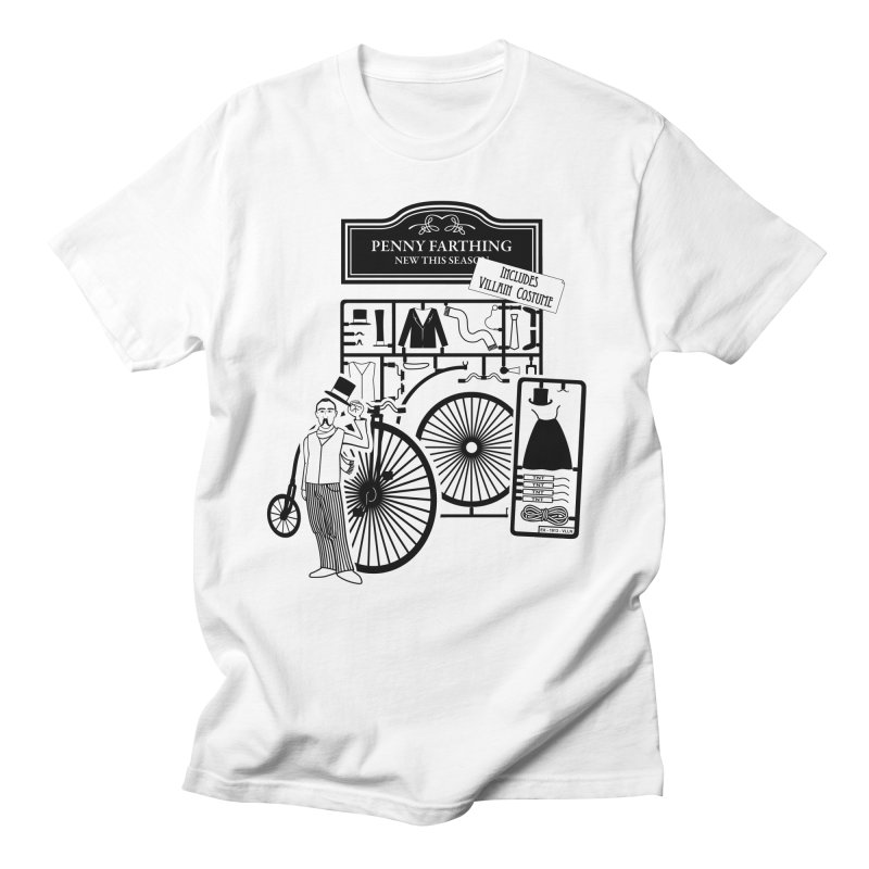 penny_farthing Men's T-shirt by graphi