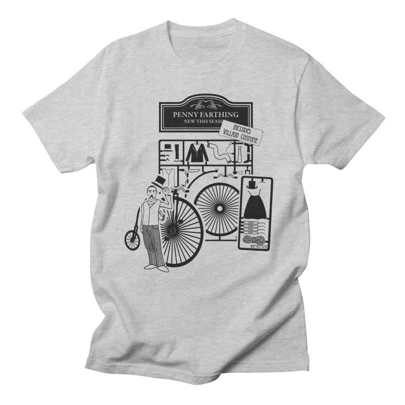penny_farthing Men's Regular T-Shirt by graphi
