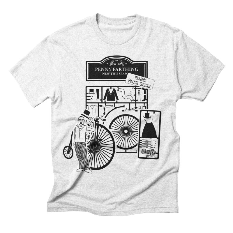 penny_farthing Men's Triblend T-shirt by graphi