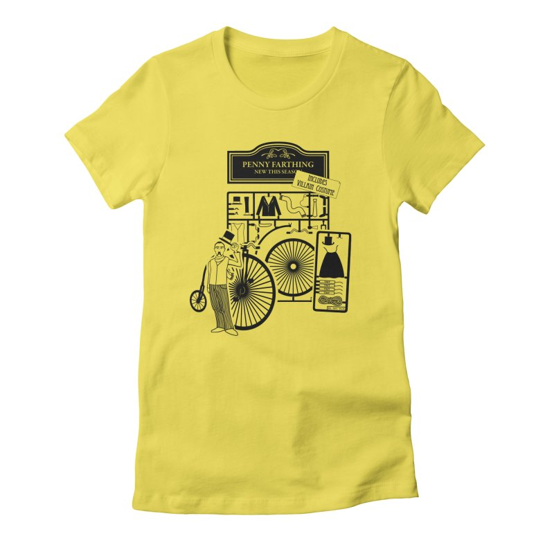 penny_farthing Women's T-Shirt by graphi