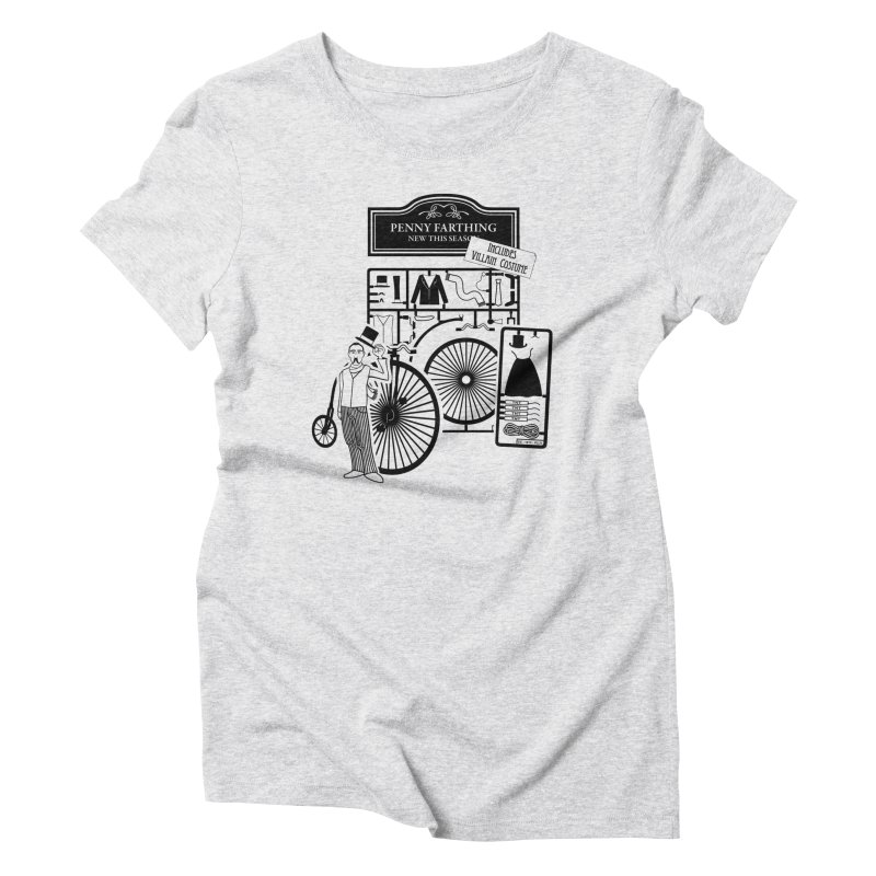 penny_farthing Women's Triblend T-Shirt by graphi