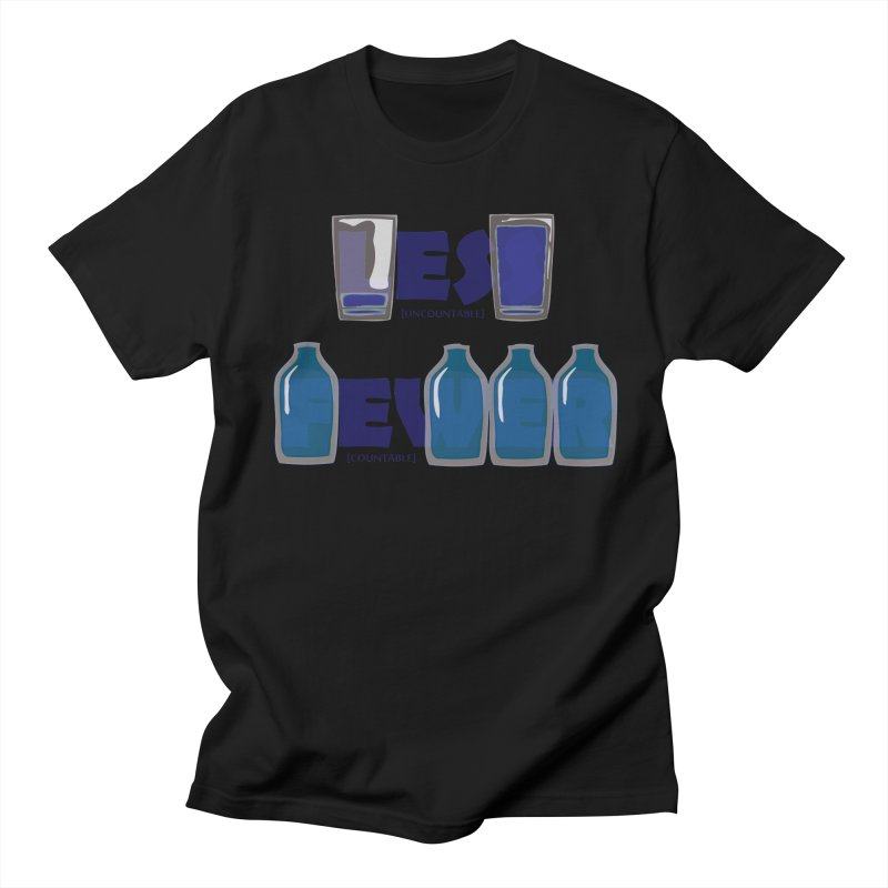 less_or_fewer Men's T-Shirt by graphi