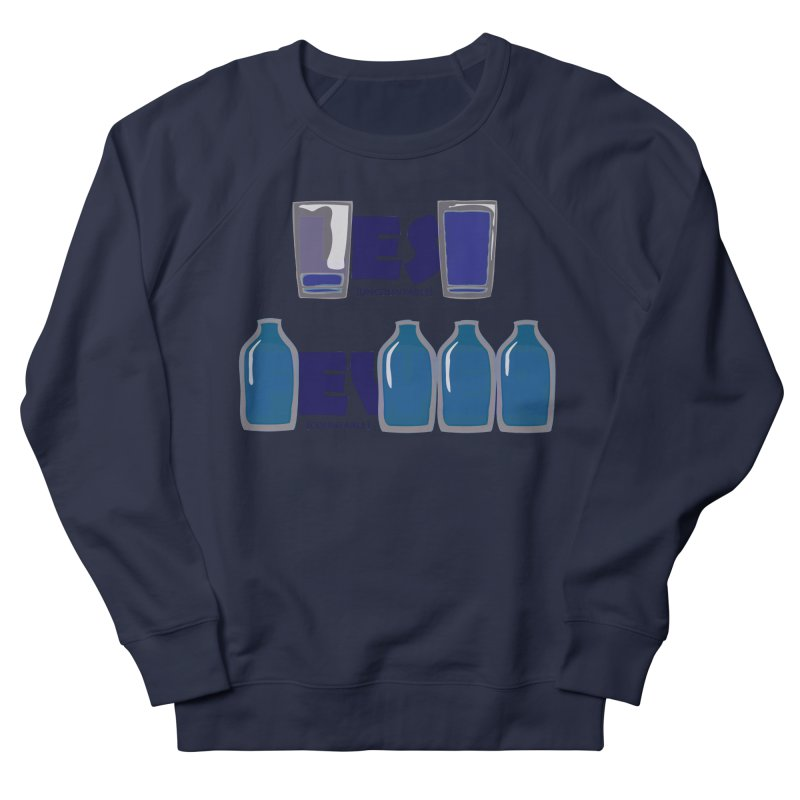 less_or_fewer Men's French Terry Sweatshirt by graphi