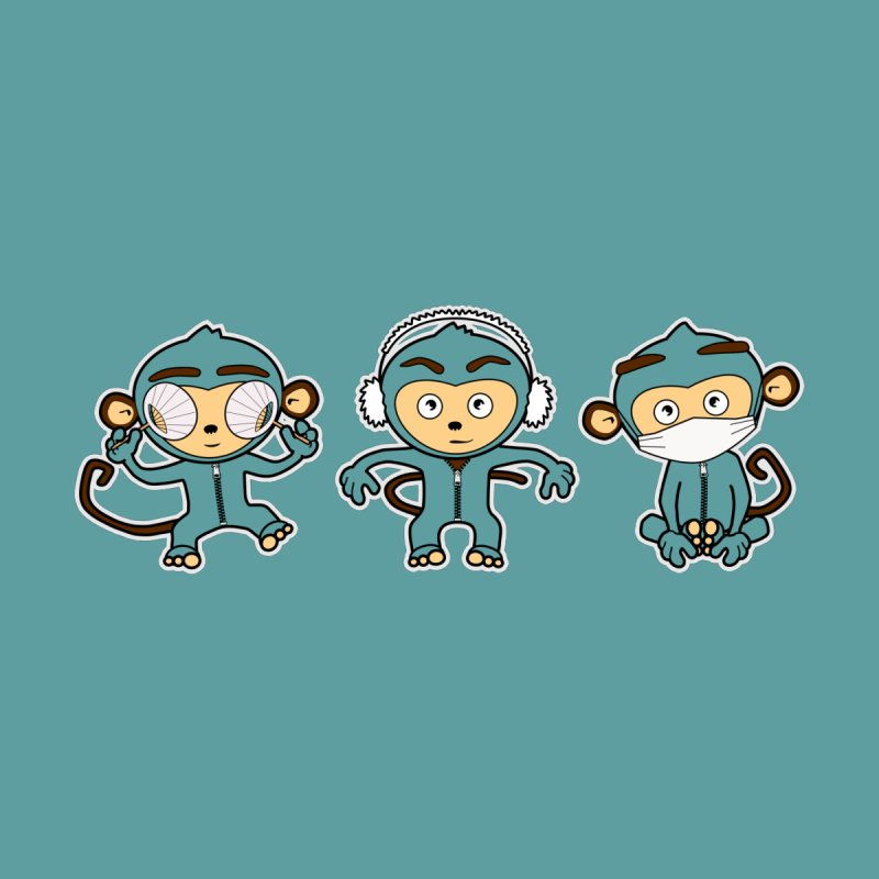 three_wise_monkeys None  by graphi