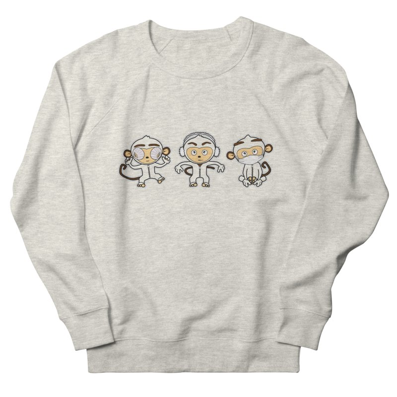 three_wise_monkeys Men's Sweatshirt by graphi