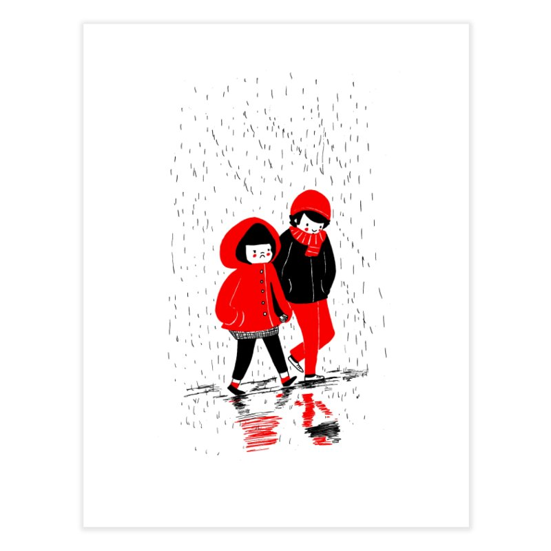 SOPPY - Rain Home Fine Art Print by Philippa Rice's Shop