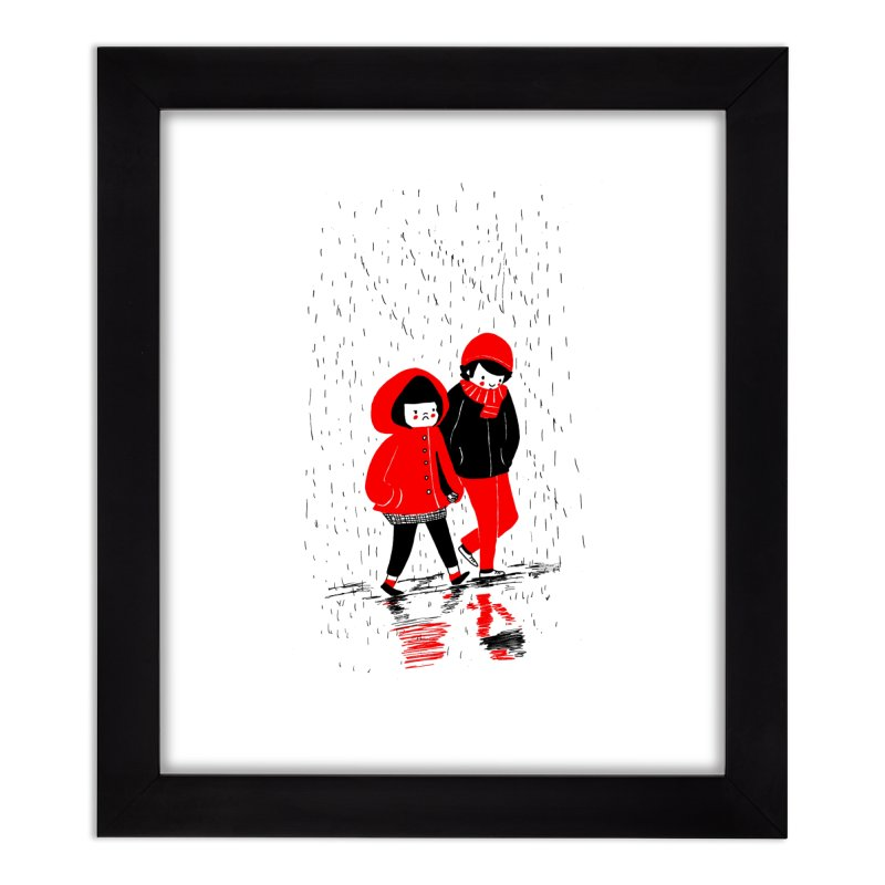 SOPPY - Rain Home Framed Fine Art Print by Philippa Rice's Shop