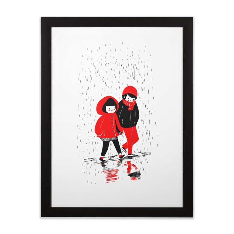 SOPPY - Rain Home Framed Fine Art Print by Philippa Rice's Shop