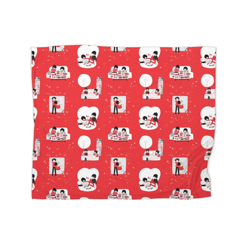 SOPPY repeating pattern  Home Blanket by Philippa Rice's Shop