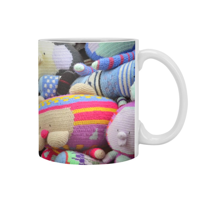 Crochet Characters Accessories Mug by Philippa Rice's Shop