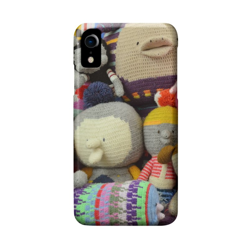 Crochet Characters Accessories Phone Case by Philippa Rice's Shop