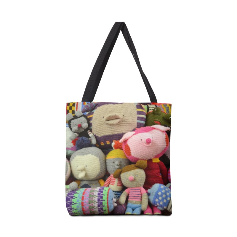 Crochet Characters Accessories Bag by Philippa Rice's Shop