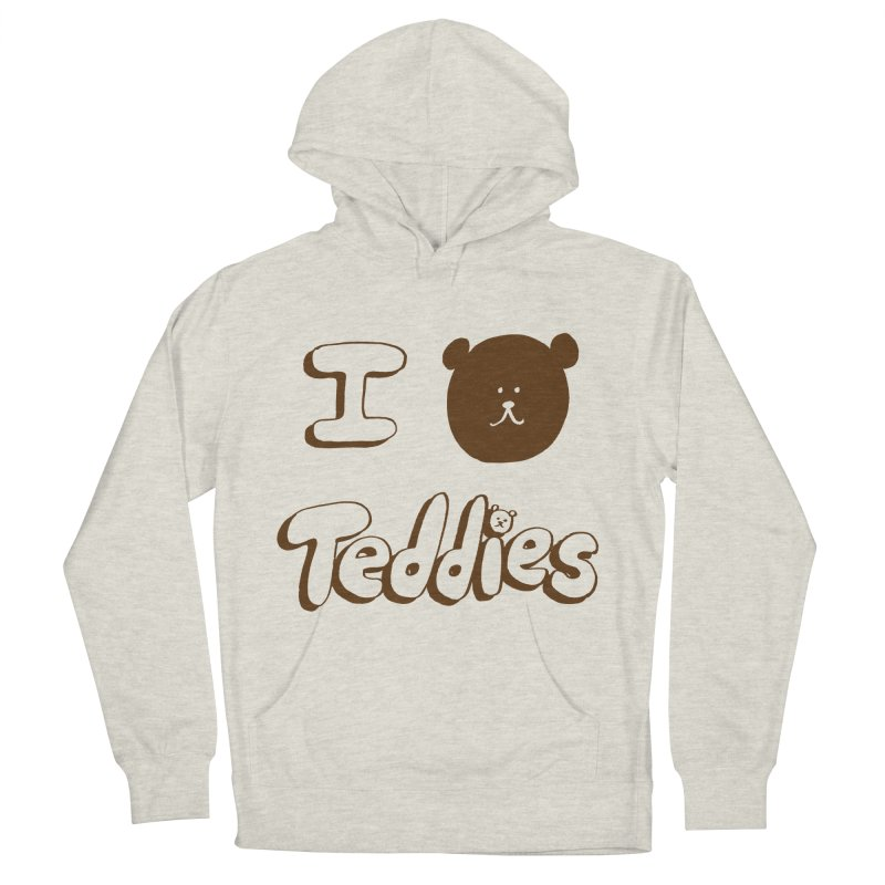 I TED TEDDIES Men's French Terry Pullover Hoody by Philippa Rice's Shop