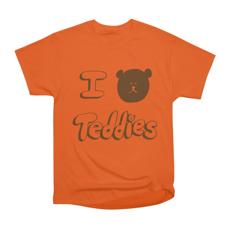 I TED TEDDIES Women's Heavyweight Unisex T-Shirt by Philippa Rice's Shop