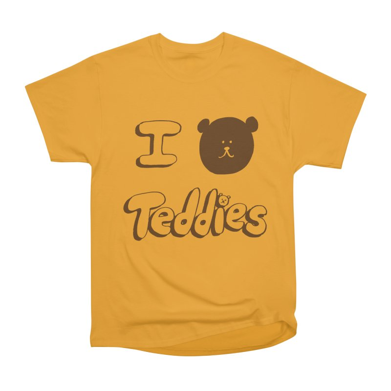 I TED TEDDIES Men's Heavyweight T-Shirt by Philippa Rice's Shop