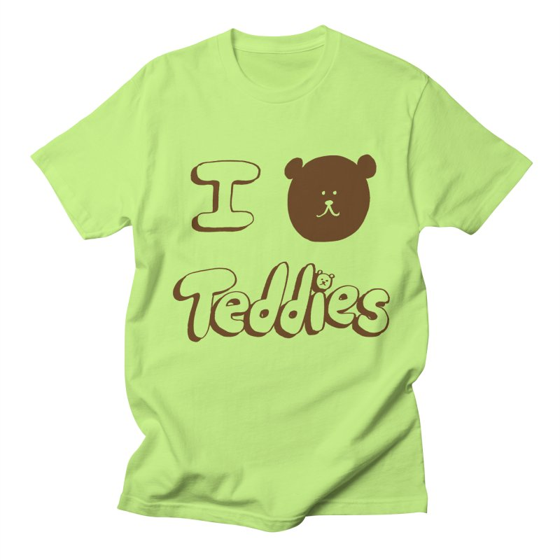 I TED TEDDIES Men's Regular T-Shirt by Philippa Rice's Shop