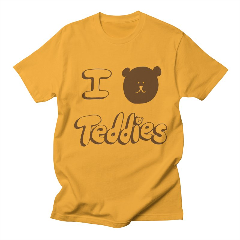 I TED TEDDIES Women's Unisex T-Shirt by Philippa Rice's Shop