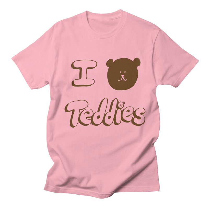 I TED TEDDIES Women's Unisex T-Shirt by Philippa Rice's Shop