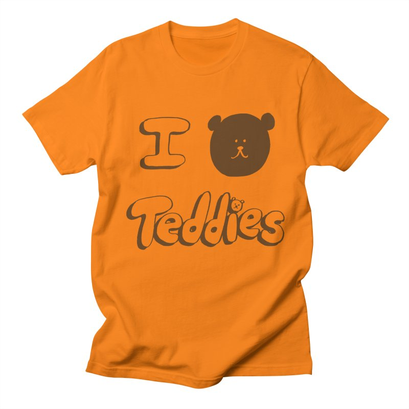 I TED TEDDIES Men's Regular T-Shirt by Philippa Rice's Shop