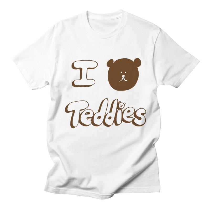 I TED TEDDIES Women's Regular Unisex T-Shirt by Philippa Rice's Shop