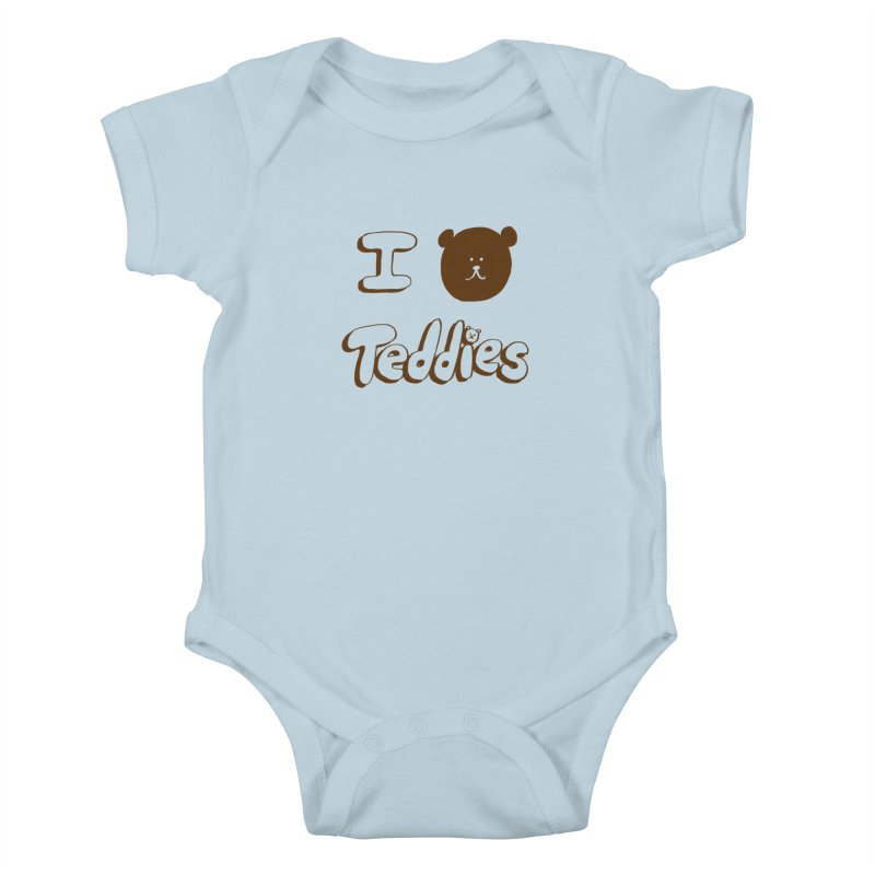 I TED TEDDIES Kids Baby Bodysuit by Philippa Rice's Shop