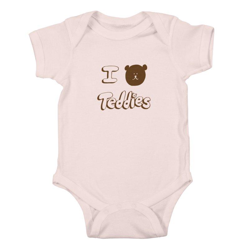 I TED TEDDIES Kids Baby Bodysuit by Philippa Rice's Shop