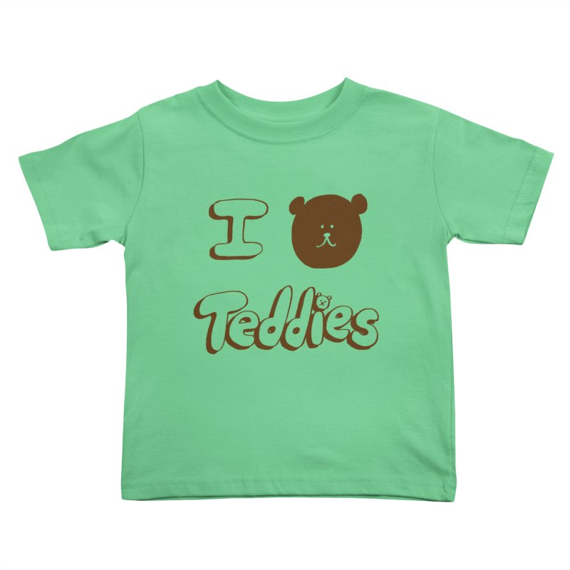 I TED TEDDIES Kids Toddler T-Shirt by Philippa Rice's Shop