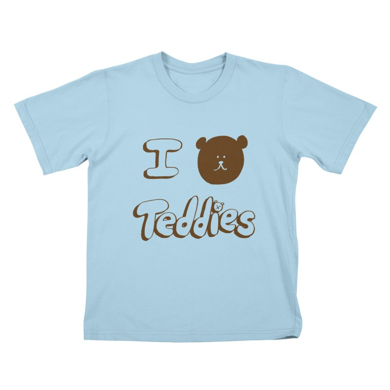 I TED TEDDIES Kids T-Shirt by Philippa Rice's Shop