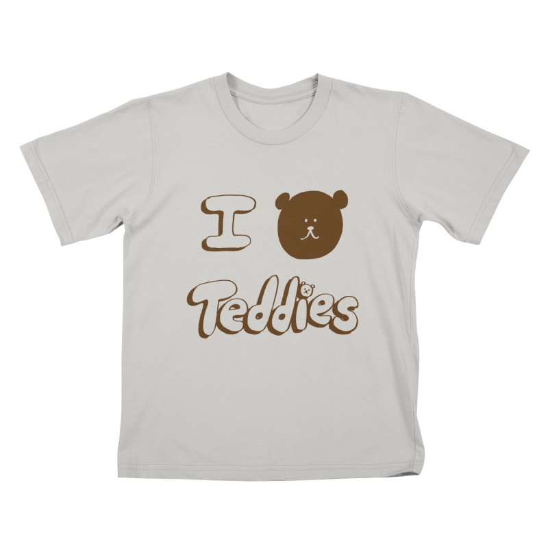 I TED TEDDIES Kids T-Shirt by Philippa Rice's Shop