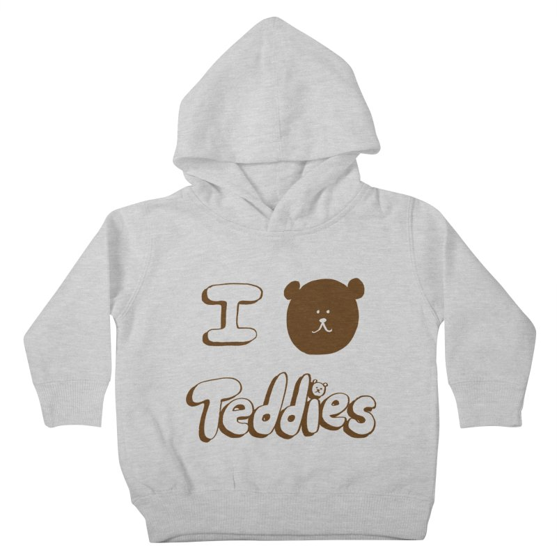 I TED TEDDIES Kids Toddler Pullover Hoody by Philippa Rice's Shop