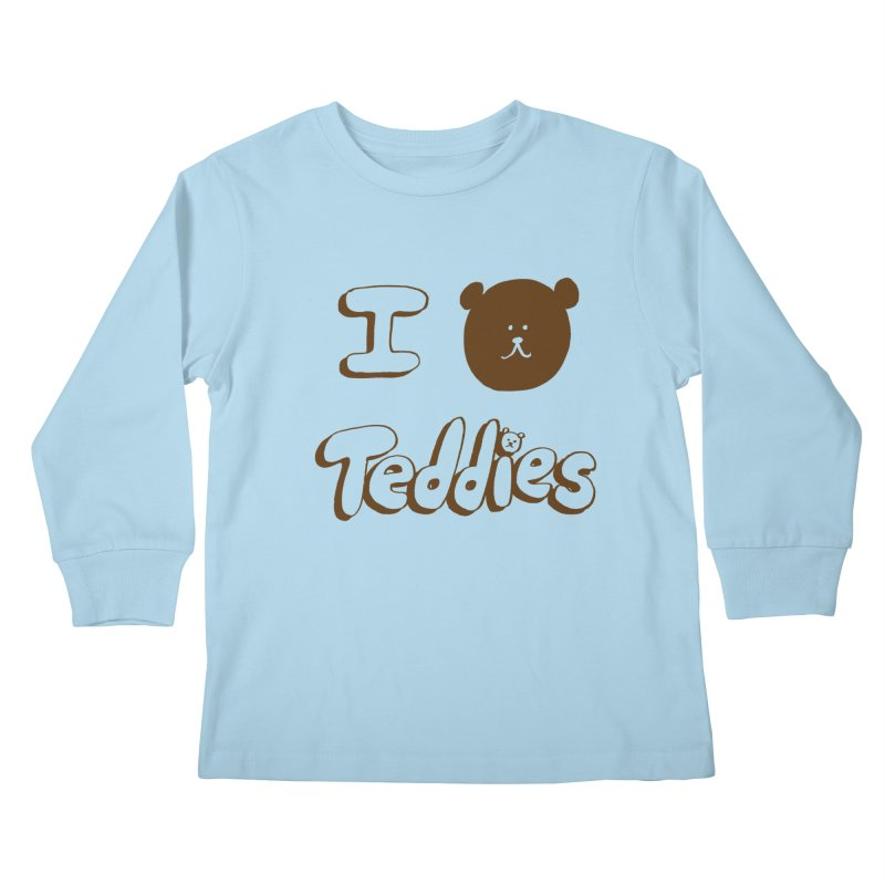 I TED TEDDIES Kids Longsleeve T-Shirt by Philippa Rice's Shop