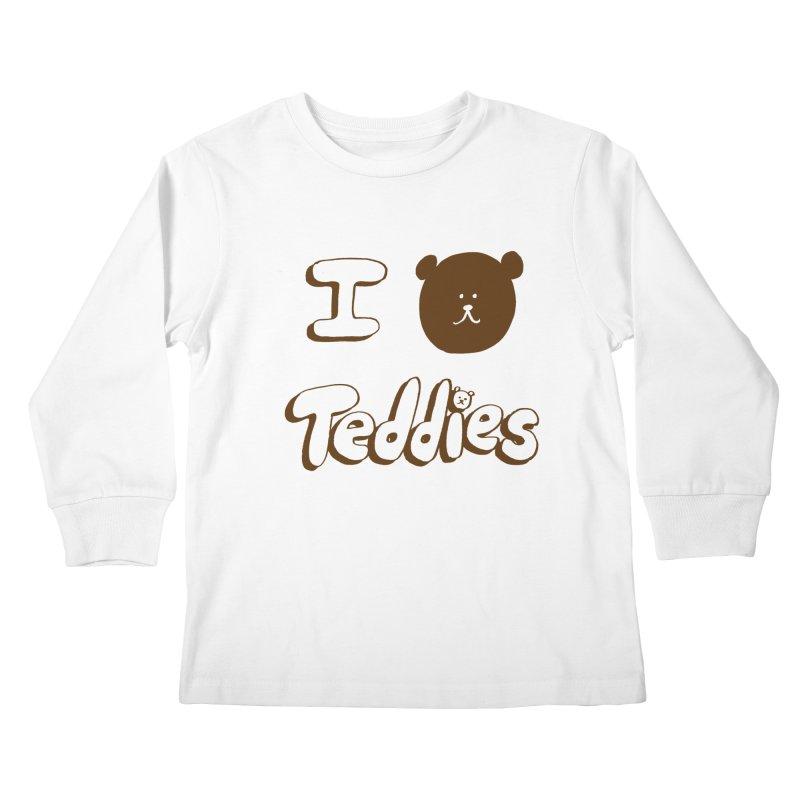 I TED TEDDIES Kids Longsleeve T-Shirt by Philippa Rice's Shop