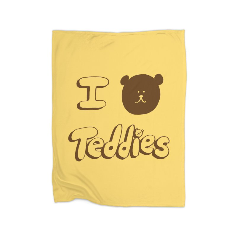 I TED TEDDIES Home Fleece Blanket Blanket by Philippa Rice's Shop