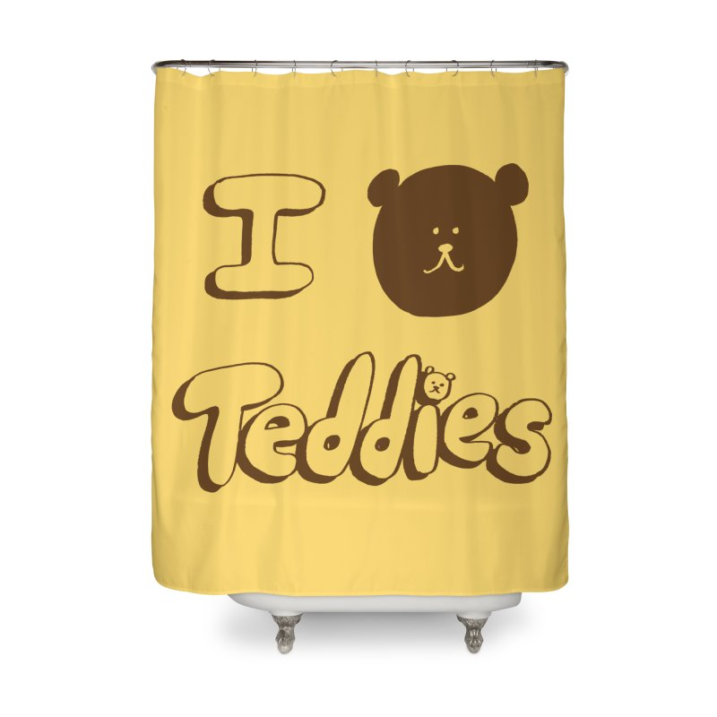 I TED TEDDIES Home Shower Curtain by Philippa Rice's Shop