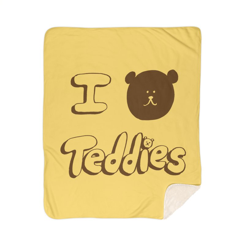 I TED TEDDIES Home Sherpa Blanket Blanket by Philippa Rice's Shop