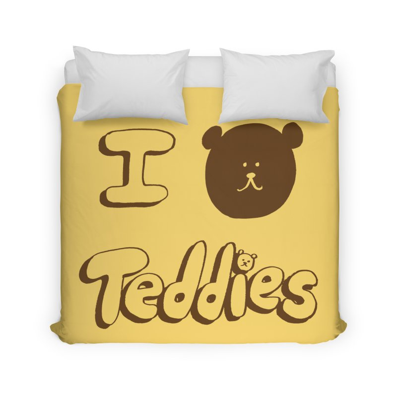 I TED TEDDIES Home Duvet by Philippa Rice's Shop