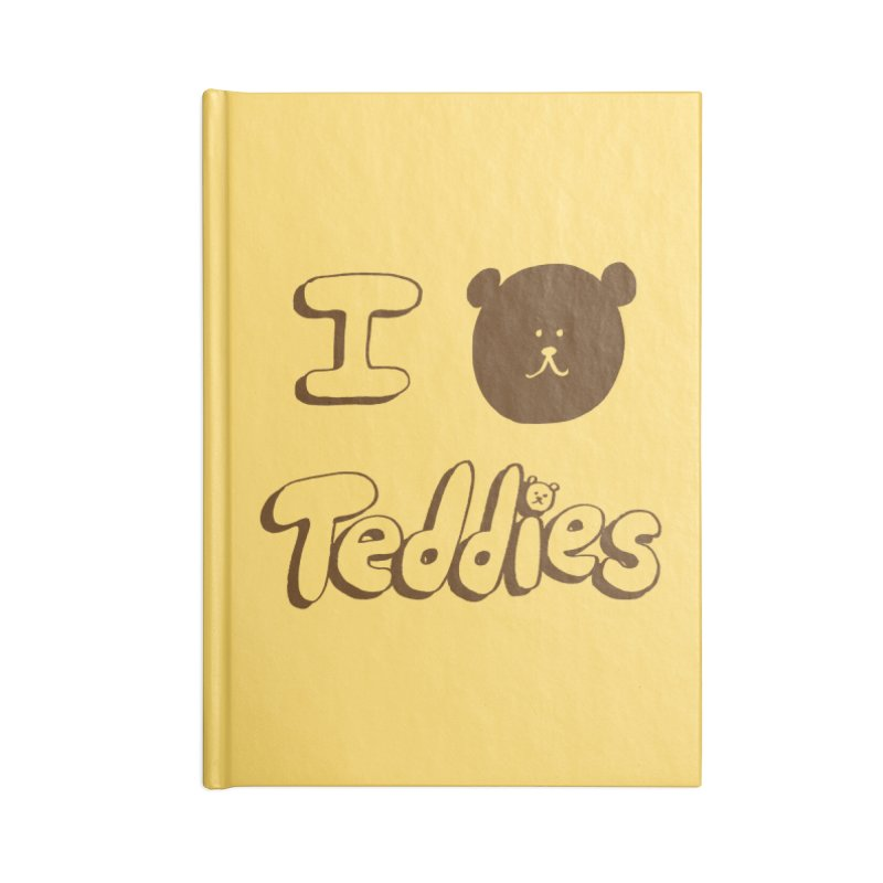 I TED TEDDIES Accessories Blank Journal Notebook by Philippa Rice's Shop