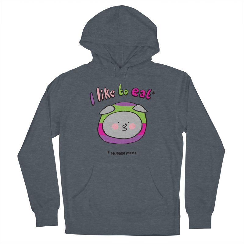 I Like To Eat  Men's Pullover Hoody by Philippa Rice's Shop