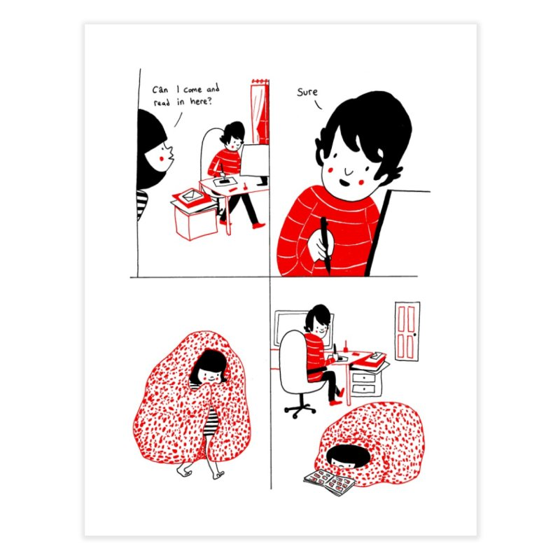 SOPPY - Visitor Home Fine Art Print by Philippa Rice's Shop