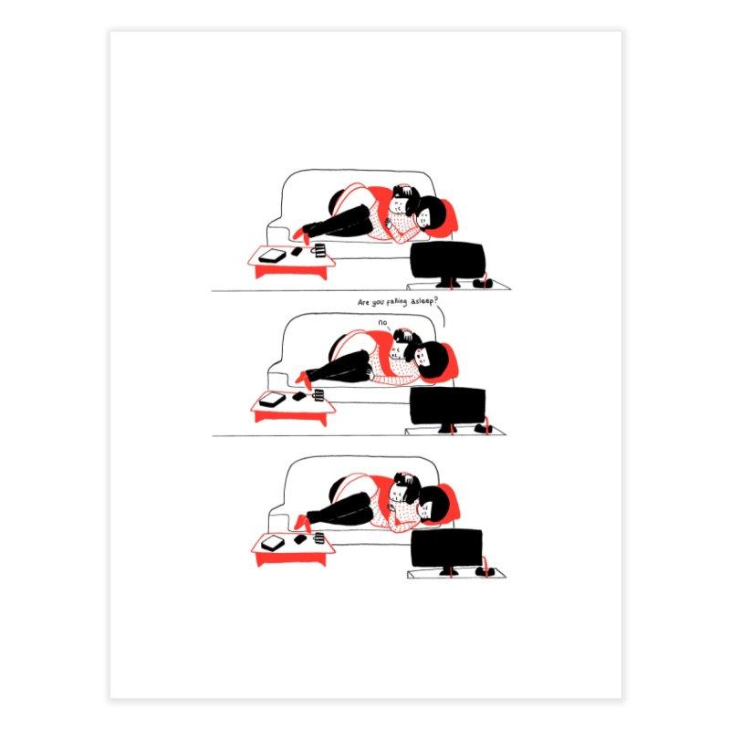 SOPPY - Asleep? Home Fine Art Print by Philippa Rice's Shop