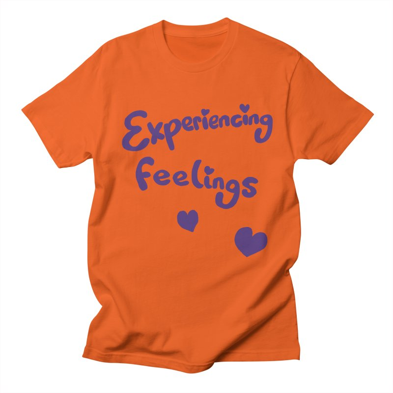 EXPERIENCING FEELINGS Men's Regular T-Shirt by Philippa Rice's Shop