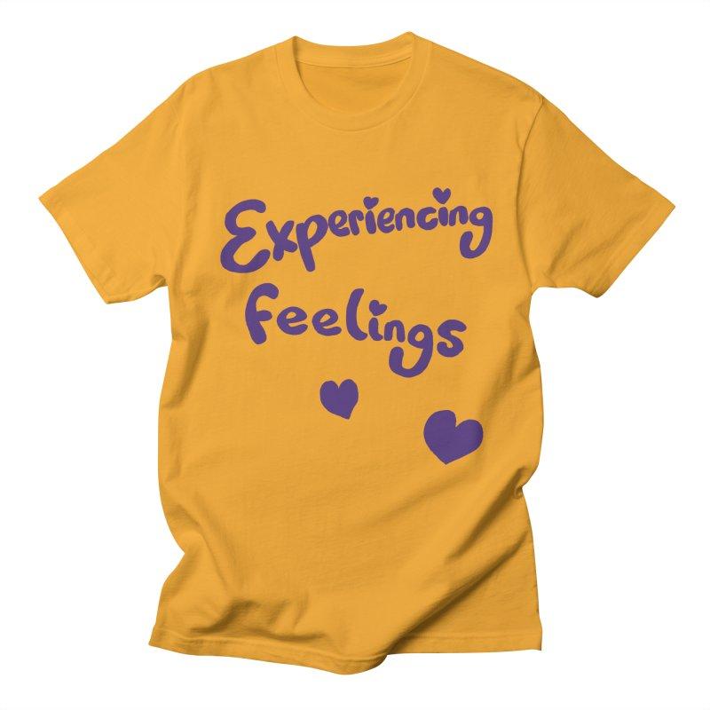 EXPERIENCING FEELINGS Women's Regular Unisex T-Shirt by Philippa Rice's Shop